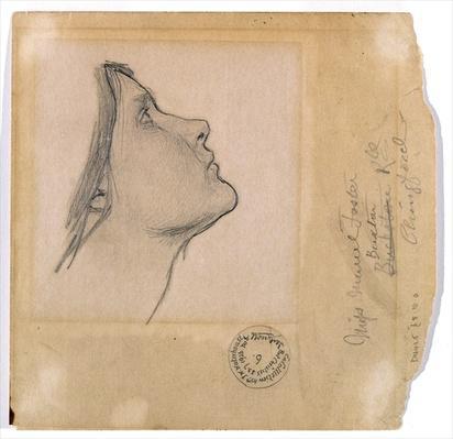 Study for 'Lamia', c.1904-05