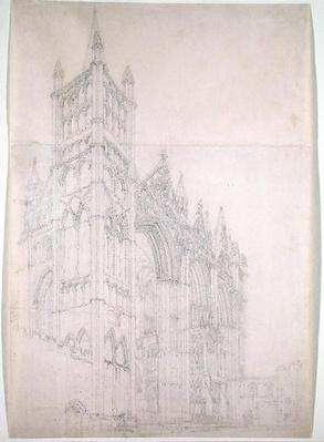 Peterborough Cathedral, Huntingdonshire, c.1794