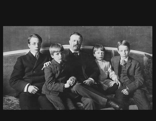 President Theodore Roosevelt and His Sons, 1904 | Ken Burns: The Roosevelts