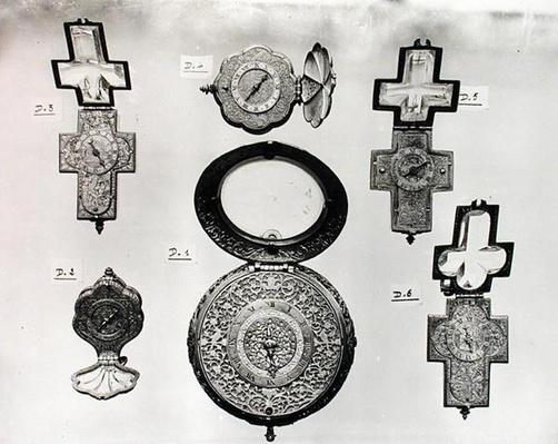 Six open watches