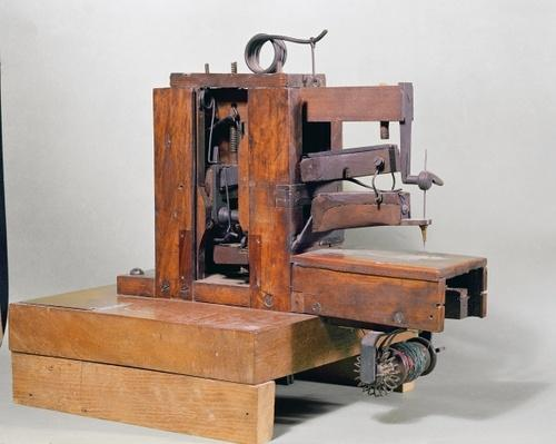 'Couseuse', the first sewing machine, 1830