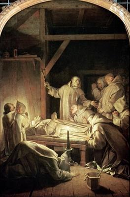 The Death of St. Bruno