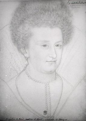 Portrait of Jacqueline de Bueil