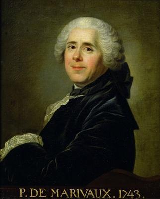 Portrait of Pierre Carlet de Chamblain de Marivaux
