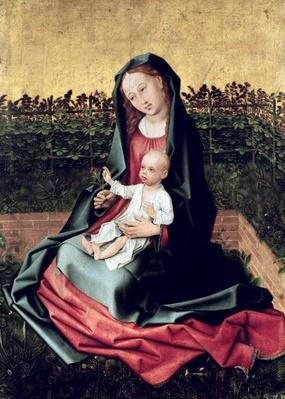Virgin and Child in the Small Garden or, Virgin with a Rose Trellis, c.1470-72