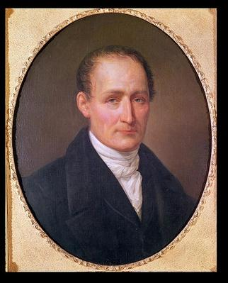 Portrait of Joseph Nicephore Niepce