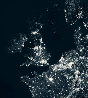 UK and Europe at night | Earth and Space