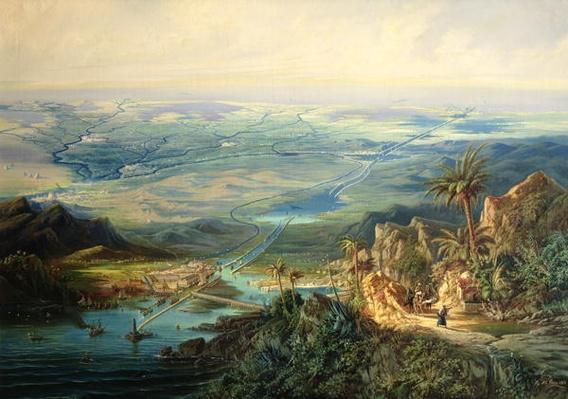 The Suez Canal, 1864