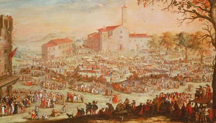 The Fair at Impruneta, 1638