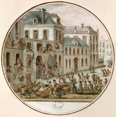 The Reveillon Riot of April, 1789