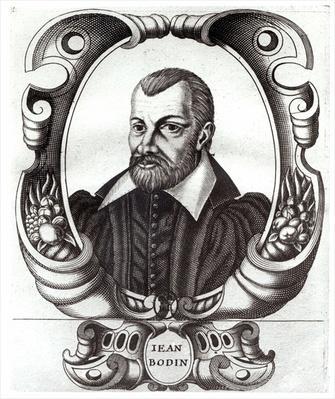 Portrait of Jean Bodin