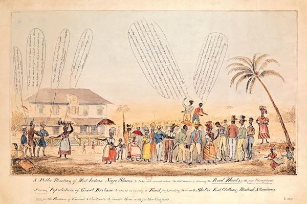 A Public Meeting of West Indian Negro Slaves, 1846