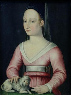 Portrait of Agnes Sorel