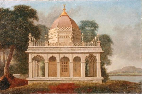 Mausoleum at Outatori near Trichinopoly, c.1788