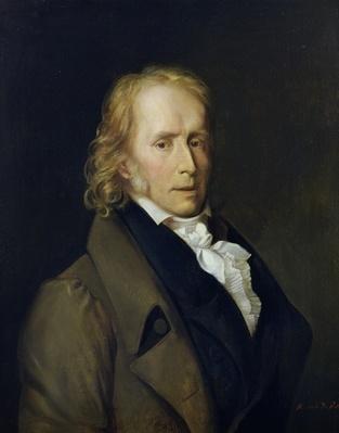 Portrait of Benjamin Constant de Rebecque