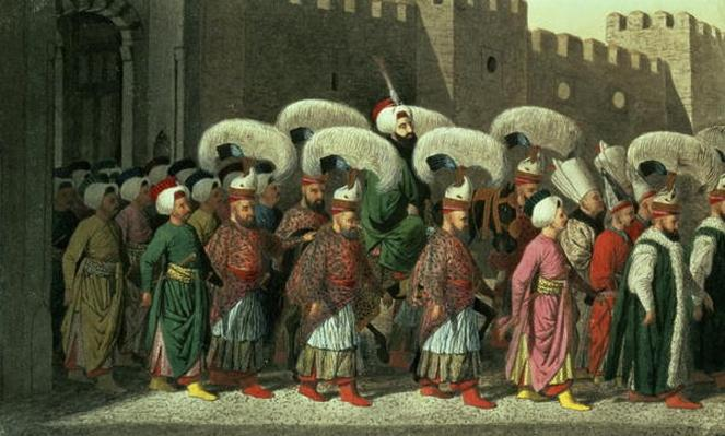 Sultan Mahmud II in Procession, 1809