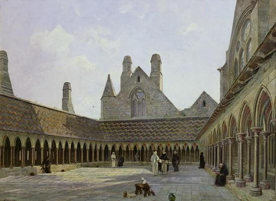 The Cloister of Mont Saint-Michel