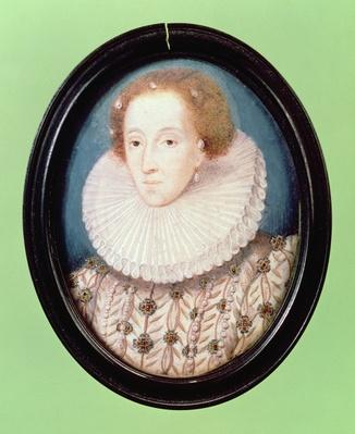 Miniature of Queen Elizabeth I