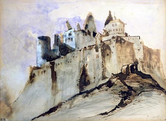 The Chateau of Vianden, 1871