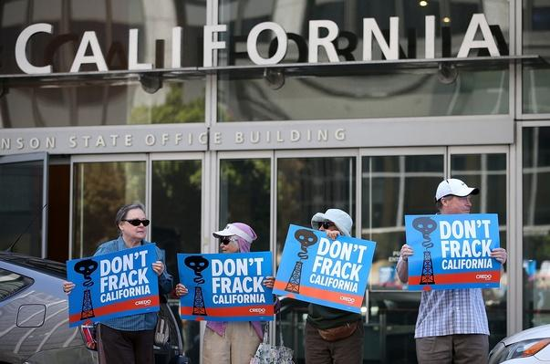 Activists Protest Fracking In California | Human Impact on the Physical Environment | Geography