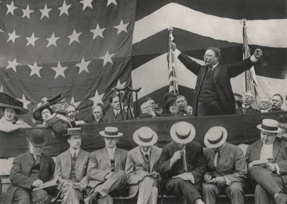 Theodore Roosevelt Speaking at Grant's Tomb, Decoration Day, 1910 | Ken Burns: The Roosevelts