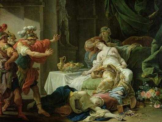 The Death of Cleopatra, 1755