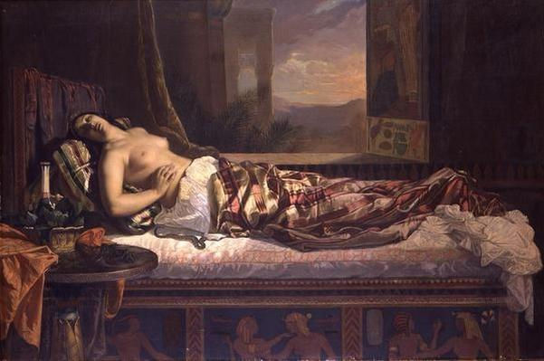 The Death of Cleopatra, 1841