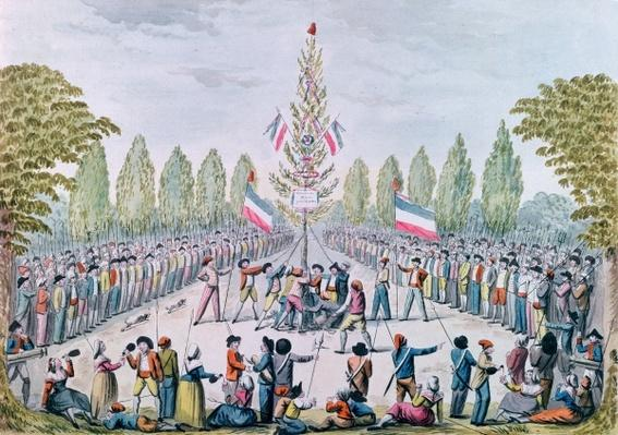 The Plantation of a Liberty Tree during the Revolution, c.1792