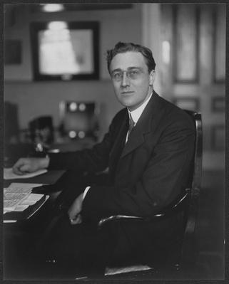 Assistant Secretary of the Navy, Franklin Delano Roosevelt, 1916 | Ken Burns: The Roosevelts