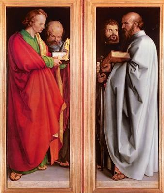 St. John with St. Peter and St. Paul with St. Mark, 1526