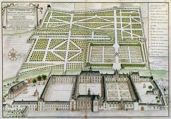 View of the Jesuit College in La Fleche, 1655