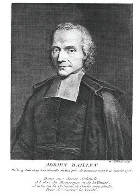 Portrait of Adrien Baillet