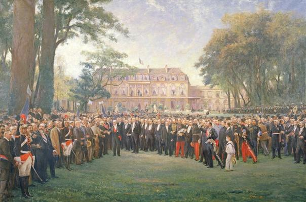 Reception of the Mayors of France at the Elysee Palace, 22nd September 1900, 1904