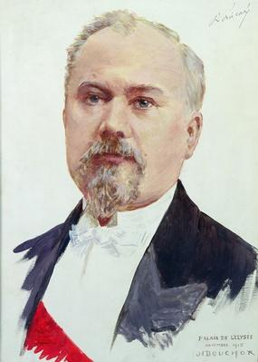 Portrait of Raymond Poincare