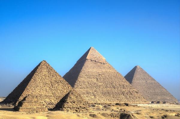 Great Pyramid of Giza | Wonders of the World