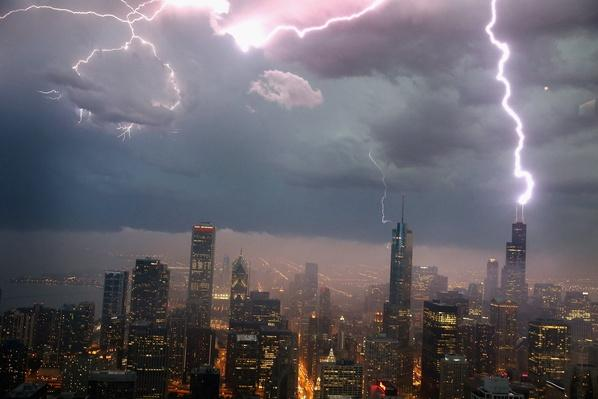 Severe Storms Pass Through Chicago | Weather