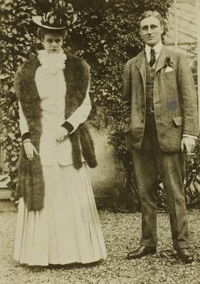 Newlyweds Franklin and Eleanor Roosevelt | Ken Burns: The Roosevelts