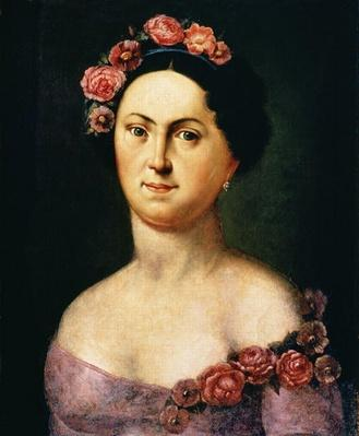 Portrait of Avdotia Istomina, 1830s