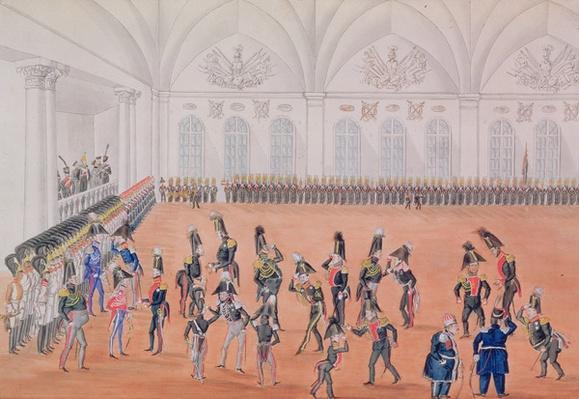 Guard Parade, 1820s
