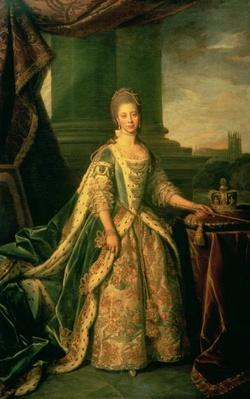 Portrait of Sophie Charlotte