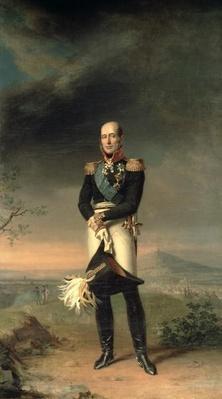 Portrait of Prince Mikhail Barclay de Tolly