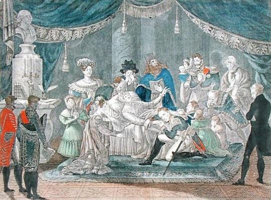 The Death of Empress Maria Fyodorovna