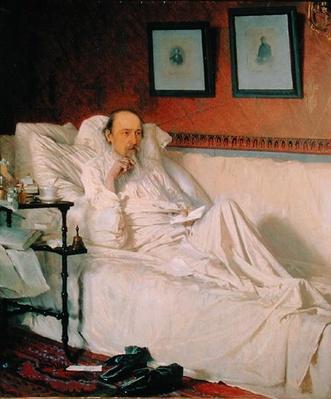 The Poet Nikolay Alekseyevich Nekrasov