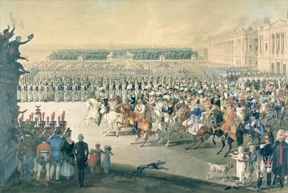 March of the Allied forces into Paris, 1815