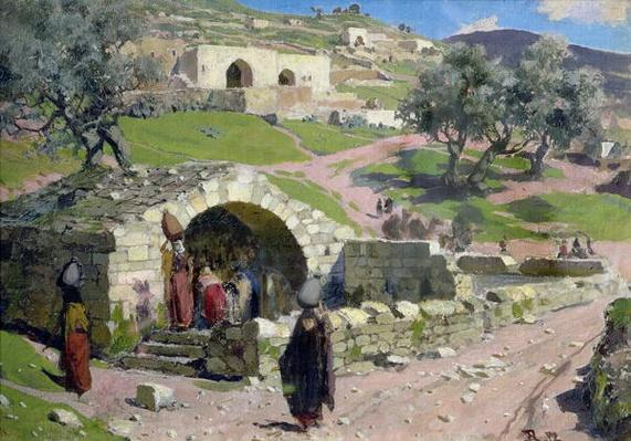 The Virgin Spring in Nazareth, 1882