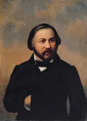 Portrait of Mikhail Ivanovich Glinka