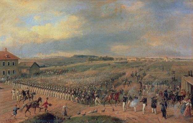 Manoeuvres, 1849