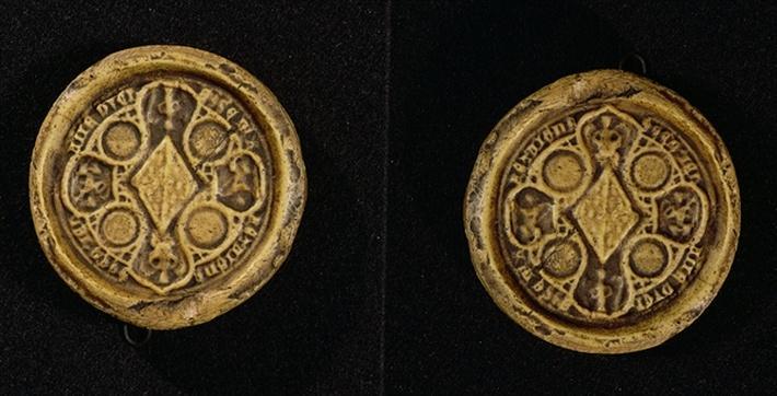 The Armorial Seal of Jeanne de Penthievre