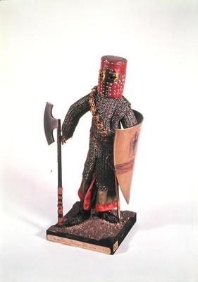 Model of a Knight at the time of Philippe-Auguste