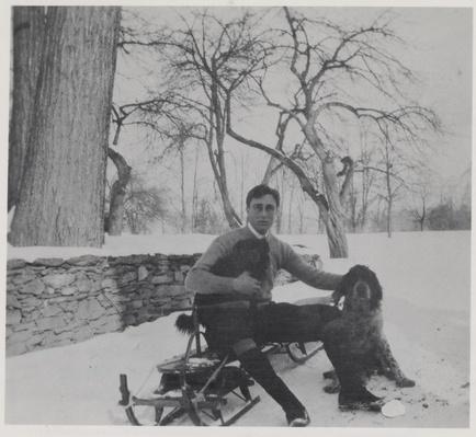 Franklin Delano Roosevelt at Home in Hyde Park, 1904 | Ken Burns: The Roosevelts